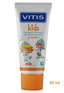 VITIS KIDS cherry zubní gel 50 ml